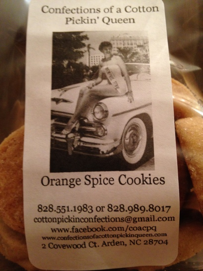 Orange Spice Cookies